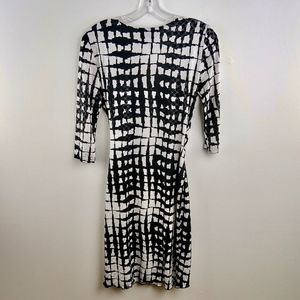 Joseph Ribkoff Dresses - Joseph Ribkoff Faux Wrap Dress Dress Stretch 6